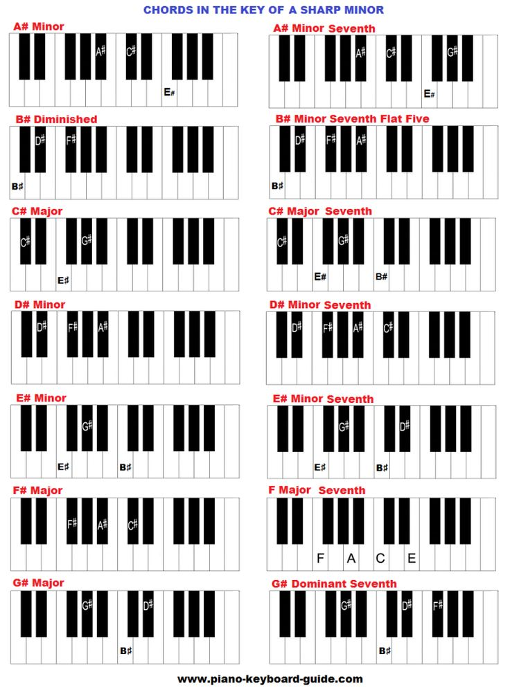 8 Best Music Images On Pinterest Keys Major Scale And Piano Music
