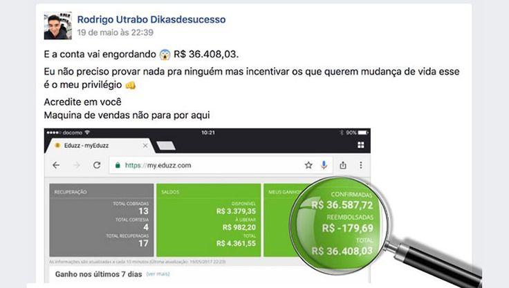 Curso de Como Ganhar Dinheiro na Internet - Depoimento de Rodrigo Utrabo
