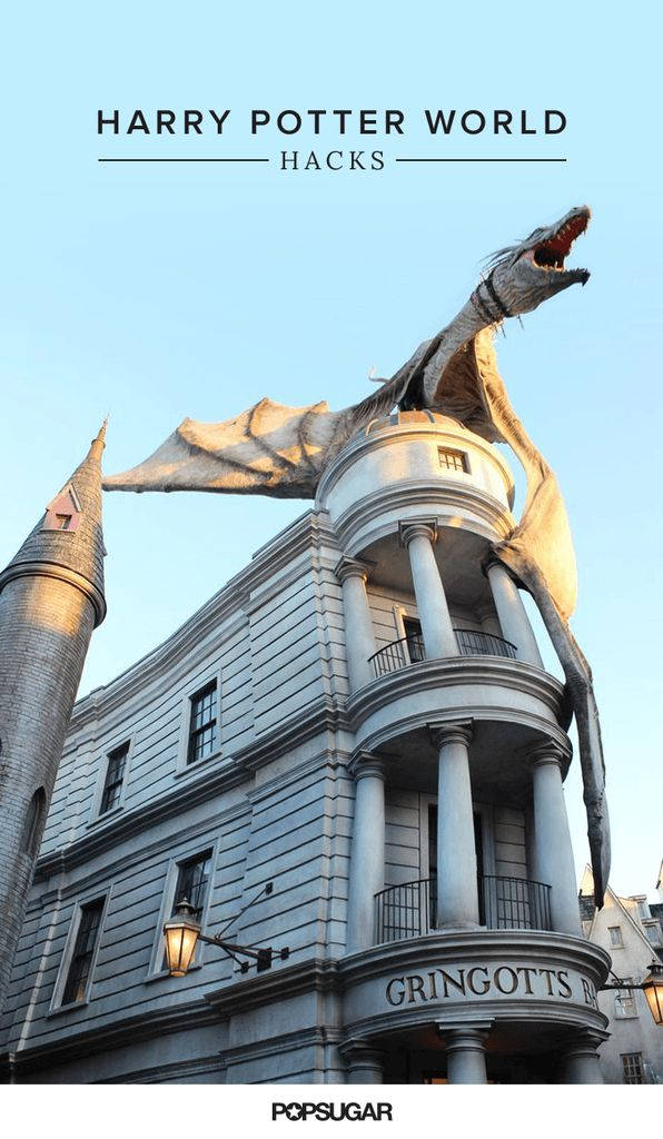 25 Wizarding World of Harry Potter Hacks You Need to Know Before Going: To say that I'm a Harry Potter fan is KIND OF an understatement.