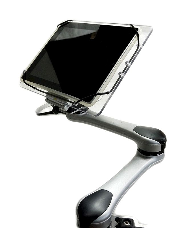 iPad wheelchair mount. >>> See it. Believe it. Do it. Watch thousands of SCI videos at SPINALpedia.com