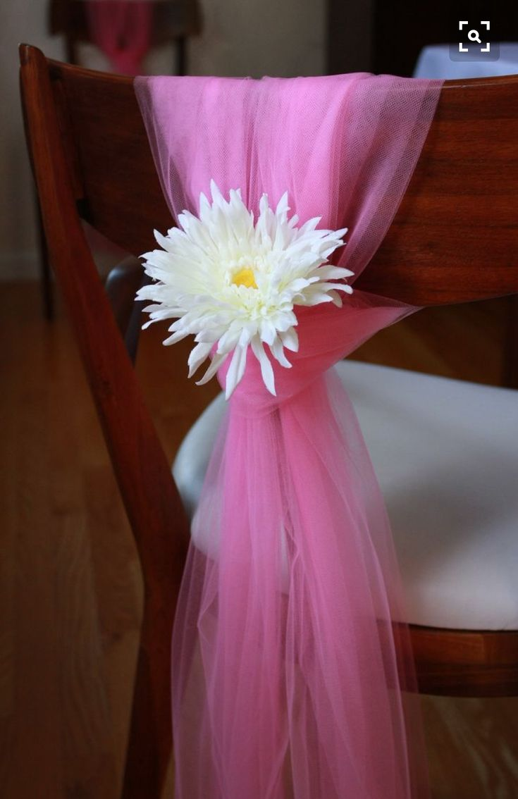 17 Best Images About DIY Tulle Wedding Decorations On Pinterest
