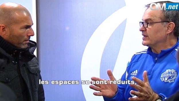 Zinedine Zidane buscó a Marcelo Bielsa para pedirle consejos como DT / VIDEO #Depor
