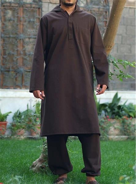 Мусульманский длинный мужской костюм