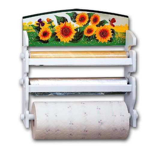 Sunflower Paper Towel Rack Very Cute :~D