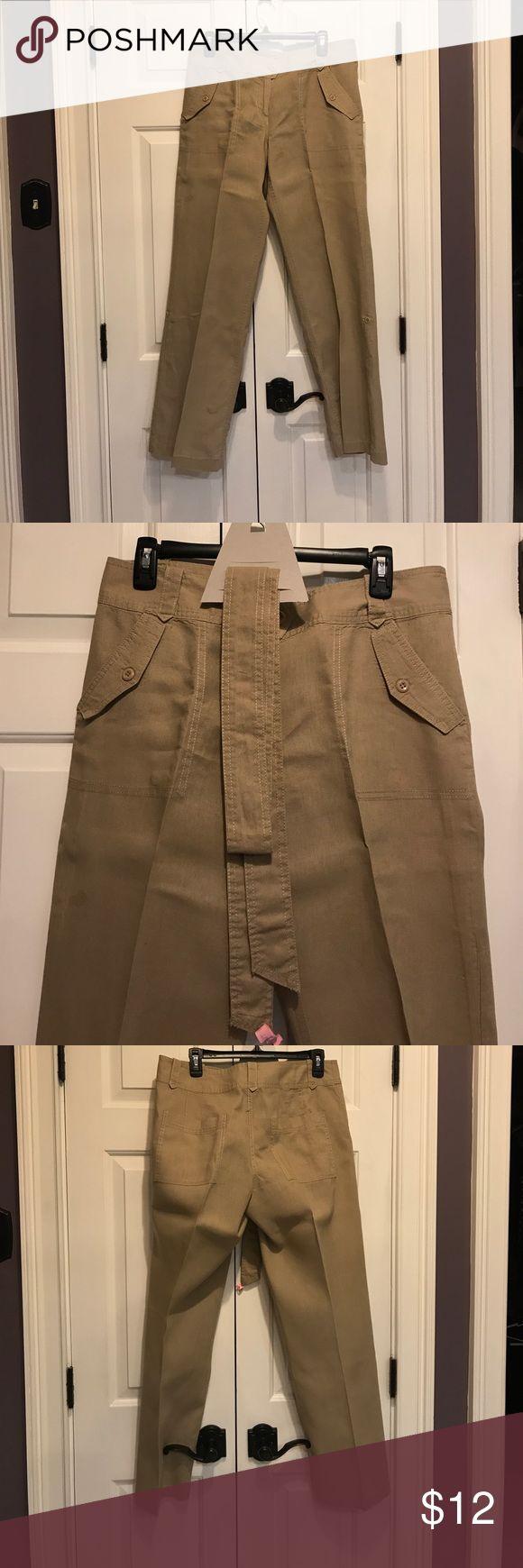 Willi Smith Dress linen pants - tie belt Willi Smith Dress linen pants - tie belt Willi Smith Pants Trousers