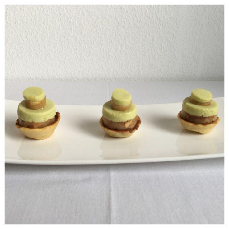 Tartelette noisette-pomme-estragon