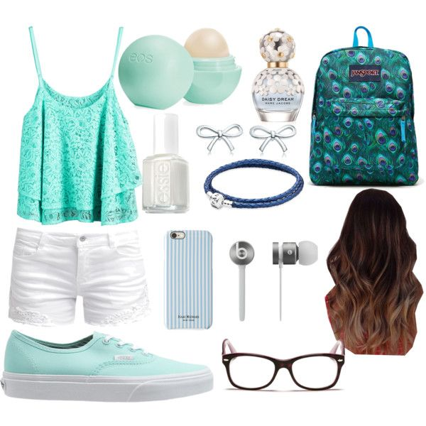 A fashion look from June 2015 featuring ONLY shorts, Vans sneakers and JanSport backpacks. Browse and shop related looks.