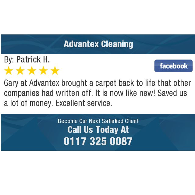 Gary at Advantex brought a carpet back to life that other companies had written off. It...