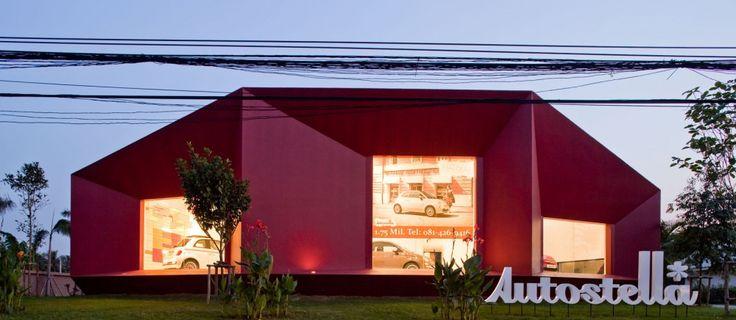 AUTOSTELLA SHOWROOM / SUPERMACHINE STUDIO / BANGKOK, THAILAND