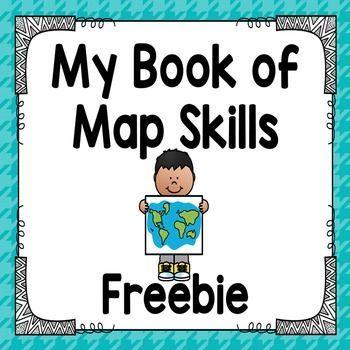 Map Skills Book Freebie                                                                                                                                                                                 More