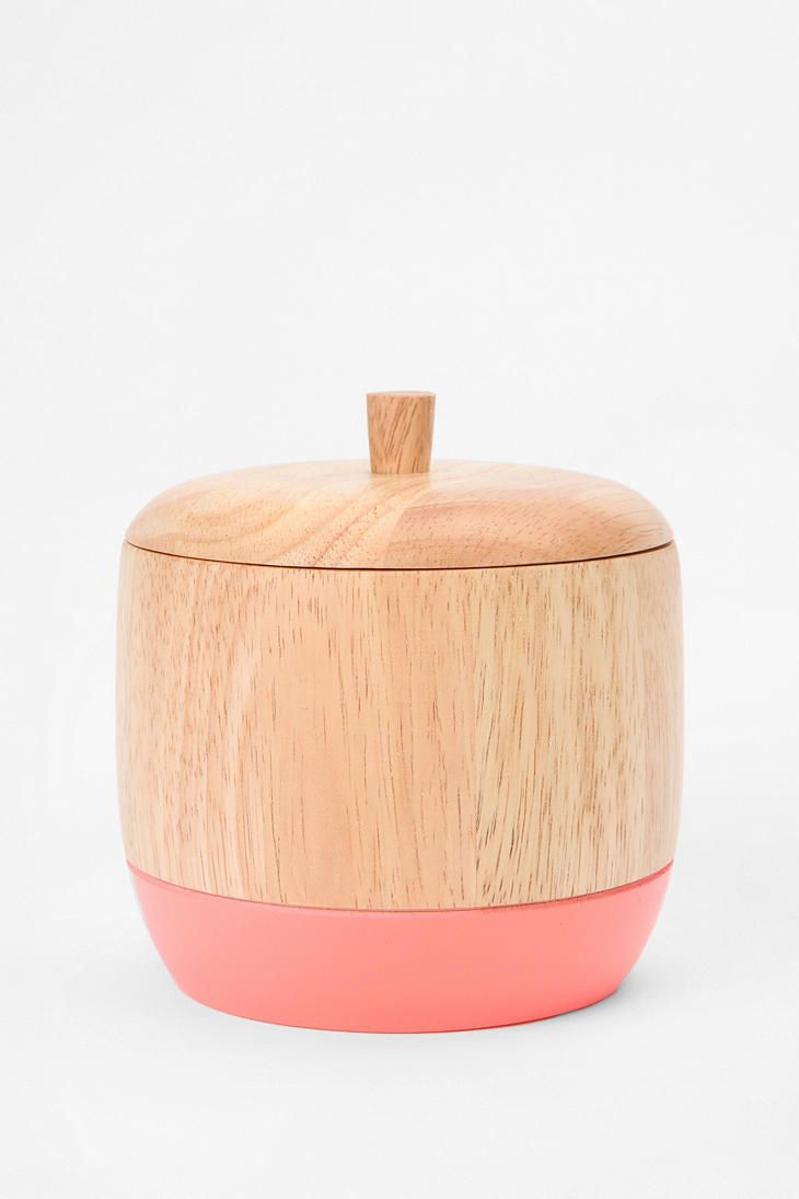 New trend painted chairs with dipped or raw legs jelanie - Dipped Wood Box Urbanoutfitters