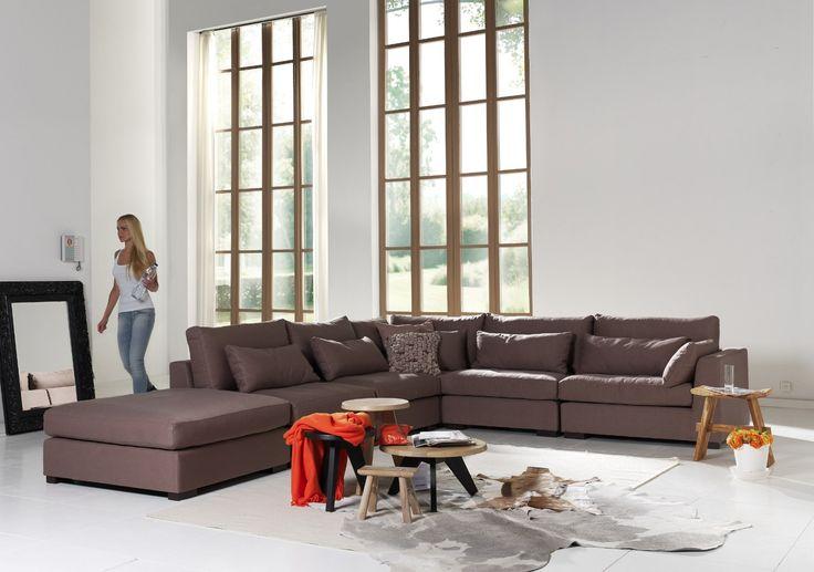 Hoeksalon top interieur salons en fauteuils pinterest warehouse apartment and lofts - De mooiste fauteuils ...