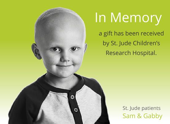 Donate Now   Thanks and Giving®   St Jude Children's Research ...