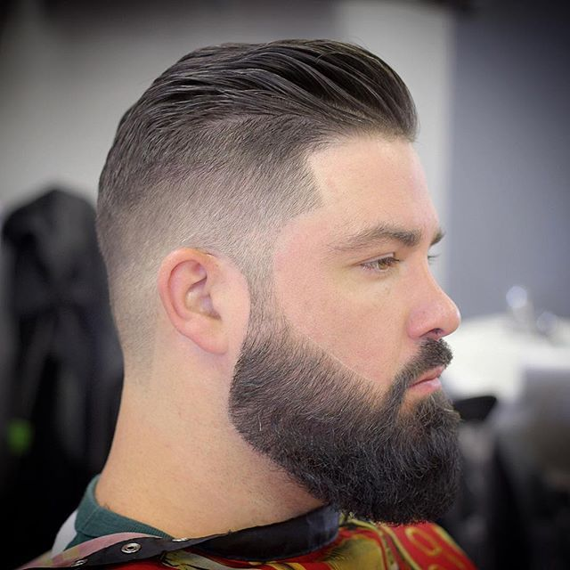 Simple & Clean™ #TeamBarberArt #TheCommission #TeamFlawless #Barber #Beard…