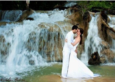 #Jamaica: Dunn's River Falls emerges as a #wedding location