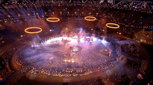 | 35 Times You Lost Your Shit Watching The London 2012 Opening Ceremony | It was a beautiful shitshow. Nothing can ever top it.