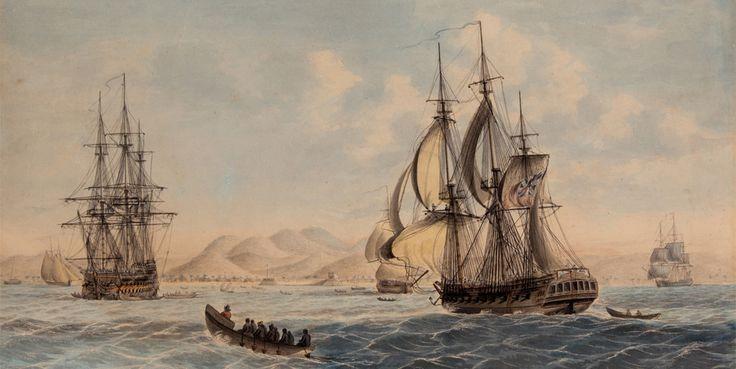 Treasure ships at the Art Gallery
