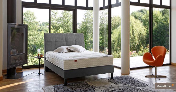 Grand Litier : matelas Epeda, Malanga. Jolie chambre avec matelas confort.