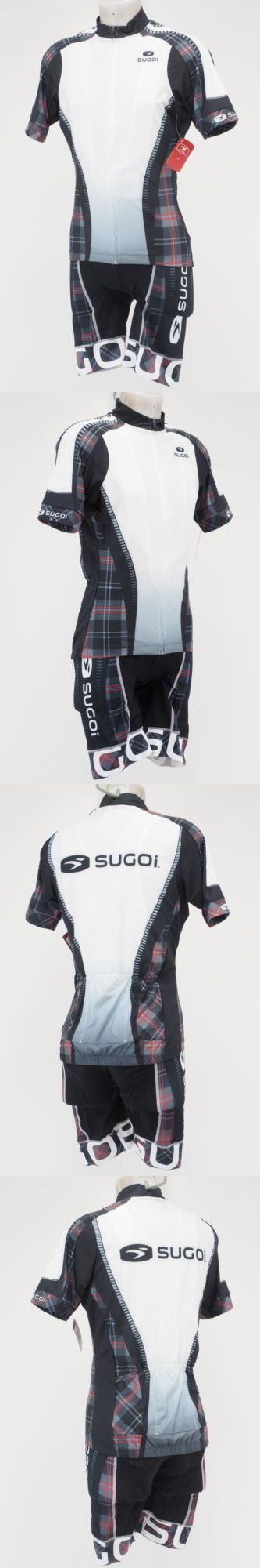 Jersey and Pant Short Sets 177852: New! Sugoi Rs Pro Mens Road Cycling Bib Shorts And Jersey Set White Size Large -> BUY IT NOW ONLY: $64.99 on eBay!