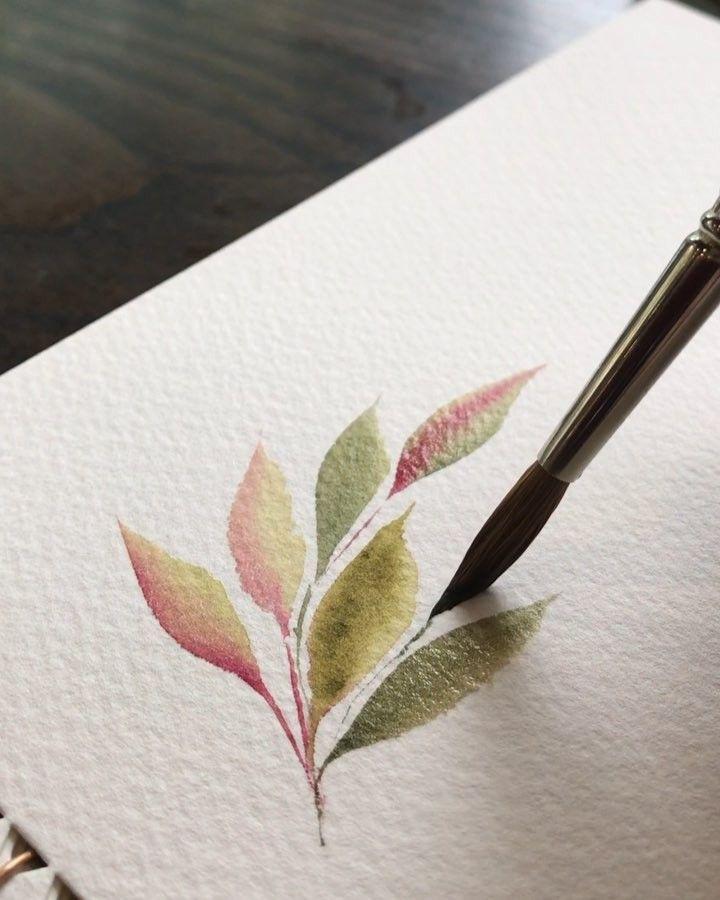 Studiostories Liebt Watercolors Peinture Sur Bois En 2019