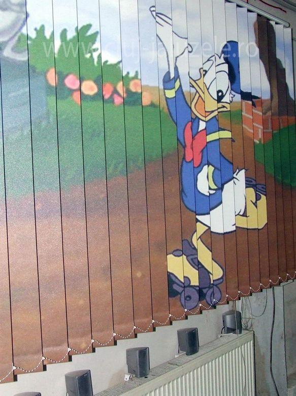 Galerie Jaluzele Personalizate Cluj | Lexundros  Jaluzea personalizata Donald Duck