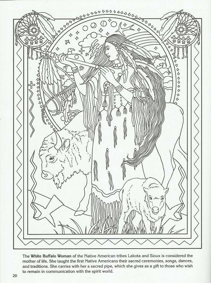 82 best coloring- native american images on pinterest | coloring ... - Native American Coloring Pictures