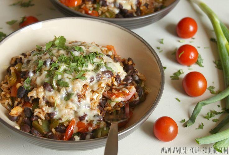 Veggie burrito bowls