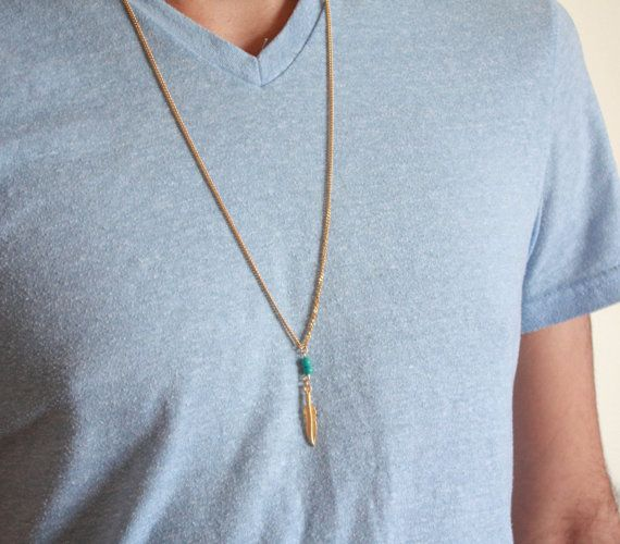 Best 25 guys necklaces ideas on pinterest diy necklaces for mens necklace mens feather necklace mens gold necklace mens jewelry mens gift boyfriend gift husband gift present for men mozeypictures Gallery