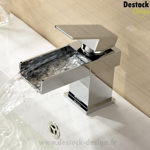 Achat en ligne notre robinet cascade lavabo