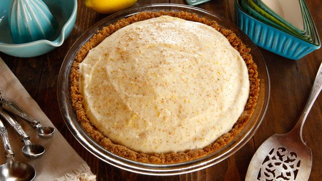 Make Walt Disney's family recipe for Cold Lemon Pie. Get the recipe at PBS Food.