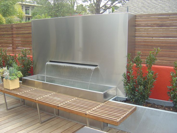 Outdoor Wall Designs outdoor wall designs 12 best decor in outdoor wall designs See The Following 15 Hearth Stopping Backyard Wall Water Fountain And Amaze Yourself Modern Fountainfountain Designoutdoor