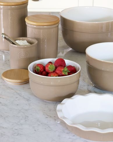Emile Henry Mixing Bowls and Canister Sets & 100 best HR Collection images on Pinterest | Baking center Cooking ...
