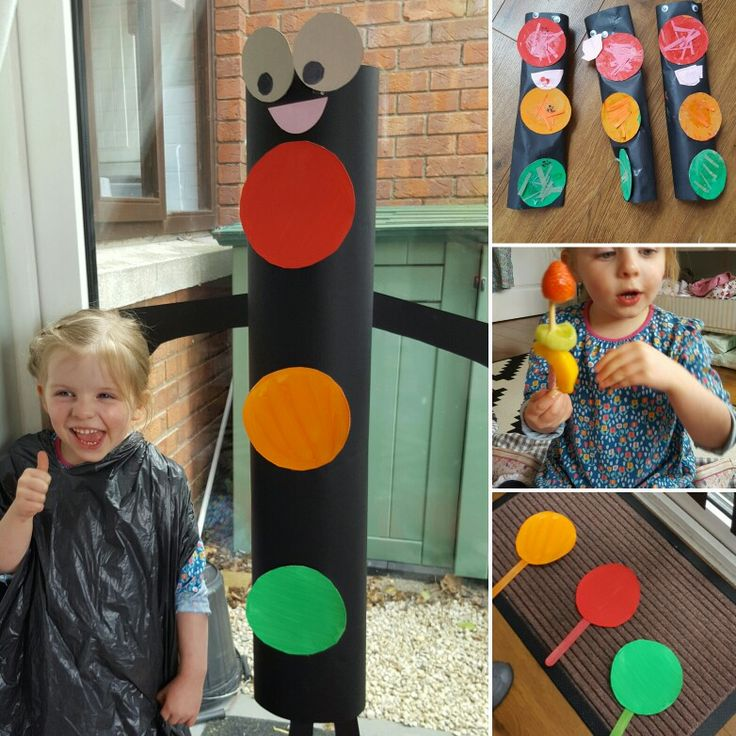 Tony the Traffic Light Lesson Plan