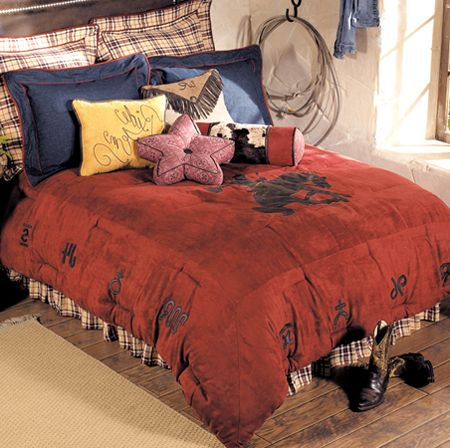 little cowboy bedding for coopers room