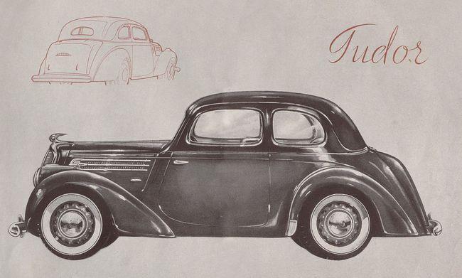 SKODA Tudor roadster