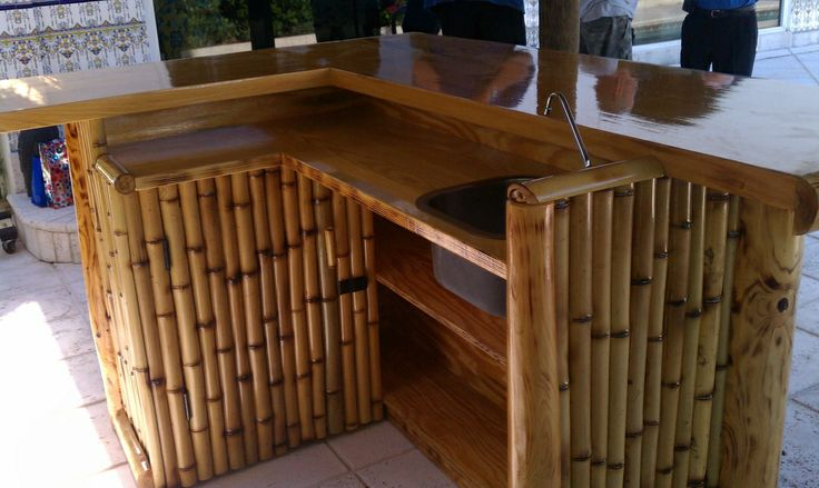 Build Bamboo Tiki Bar Woodworking Projects Amp Plans