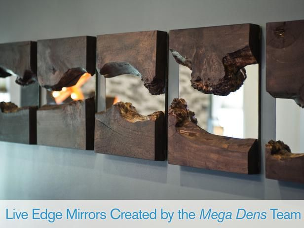 Gimme Gimme Giveaway: Live Edge Mirrors | Virginia Moon Blog Cabin 2014