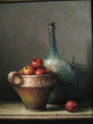 Willie Berkers - Realistic romantic painting