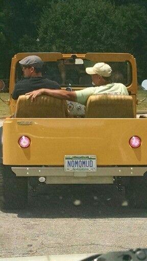 "Jeep ""NOMOMUD"" owner Randy King"