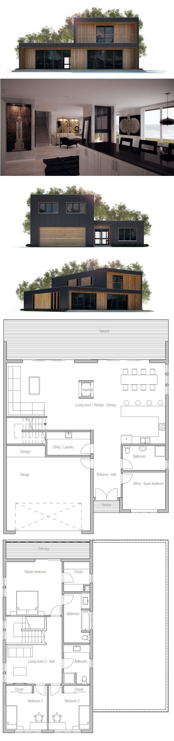 202 best First House 3d plans images on Pinterest | Home ideas, Home ...