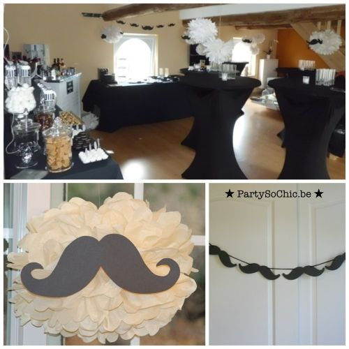 Party so ChicConcept moustaches & Jack Daniels par Party So Chic