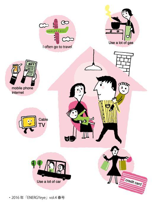 illustration-family 家族のイラスト