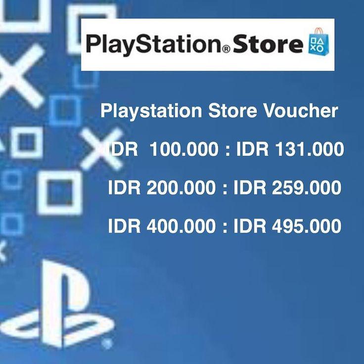 Beli game playstation gampang pke voucher ini lebih irit !