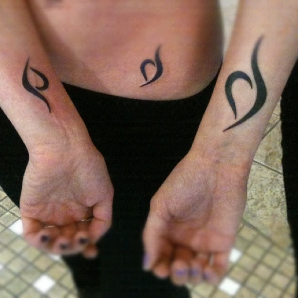 Eating Disorder Recovery Tattoos