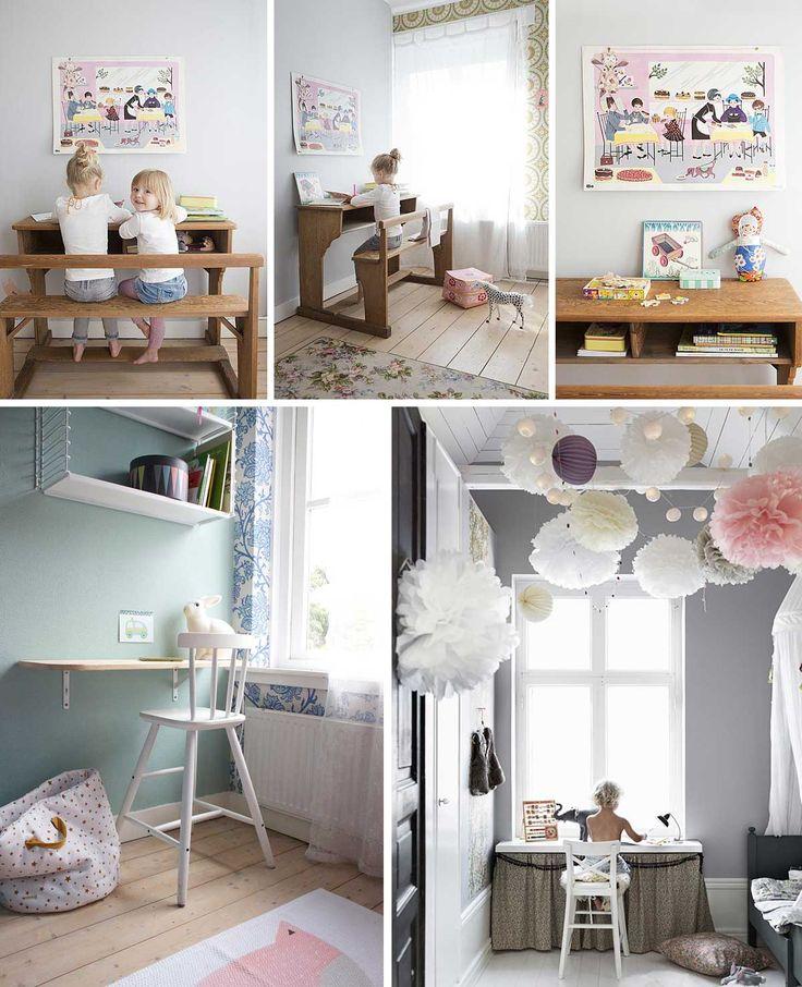 25 beste idee n over zus slaapkamer op pinterest zuster kamer tweeling meisje slaapkamers en for Kamer decoratie meisje