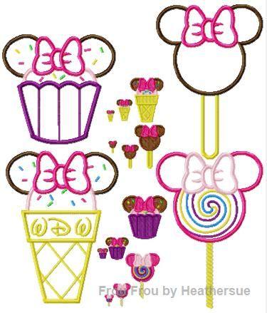 The BEST Disney Machine Applique Embroidery Designs