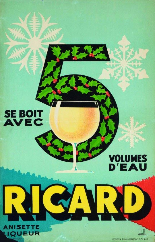 Ricard by Albert Bataille (1958)