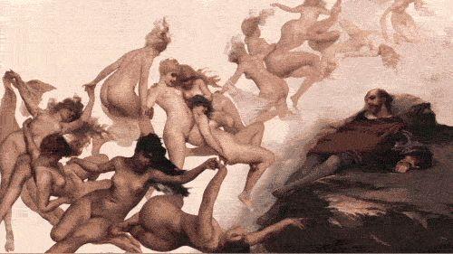 Top 25 des peintures en Gif de Rino Stefano Tagliafierro, quand les toiles prennent vie
