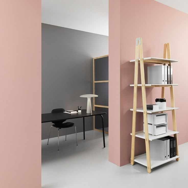 Pink accents in white Scandinavian homes   Nordic Days