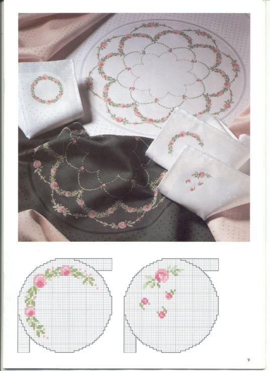 Gallery.ru / Фото #10 - Round tablecloths - irislena